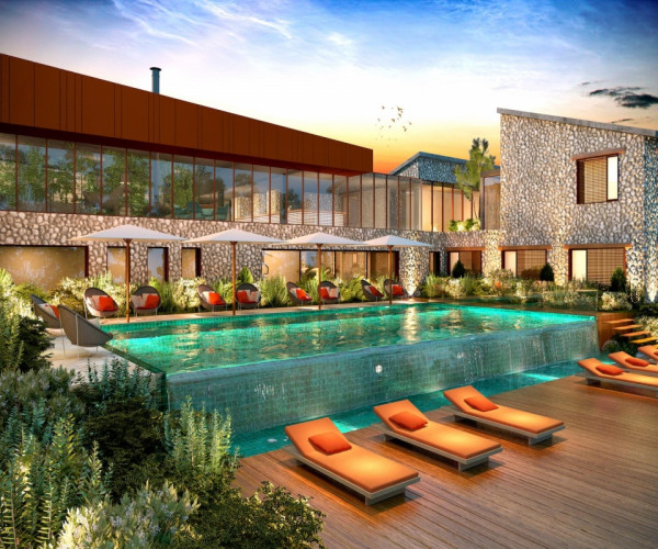 The first Light Human Hotels prepares to open in Corsica French Island